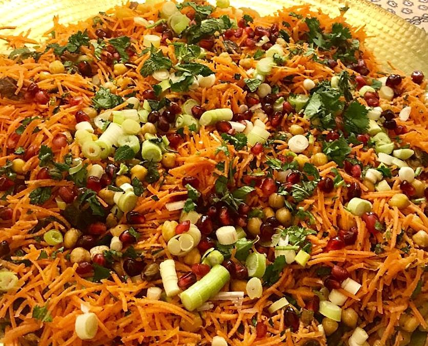 Marrakech Carrot Salad
